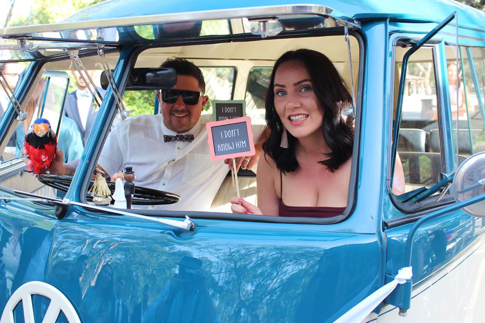 Kombi & Beetle Wedding Car Hire by Fisch & Co. - Emily & Michael (52)