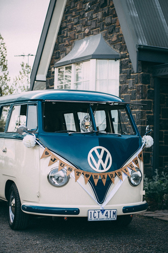 Kombi & Beetle Wedding Car Hire Melb