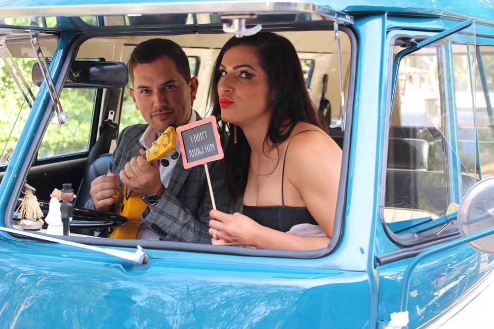 Kombi & Beetle Wedding Car Hire by Fisch & Co. - Emily & Michael (39)