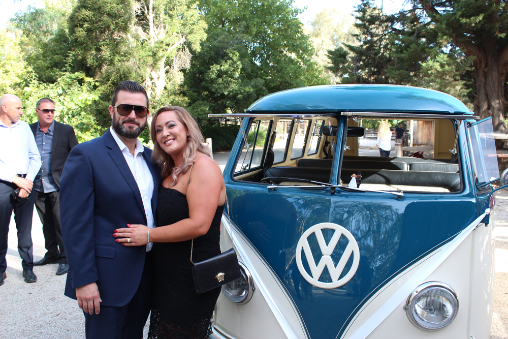 Kombi & Beetle Wedding Car Hire by Fisch & Co. - Emily & Michael (45)