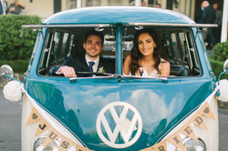 Kombi & Beetle Wedding Car Hire by Fisch & Co. Photo by Shannaya Photo & Video (5)