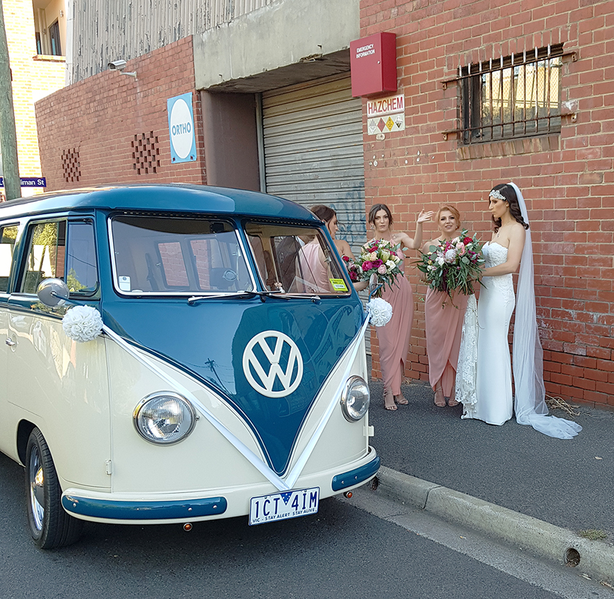 Kombi & Beetle Wedding Car Hire by Fisch & Co. - Chrissy & Chris (74)
