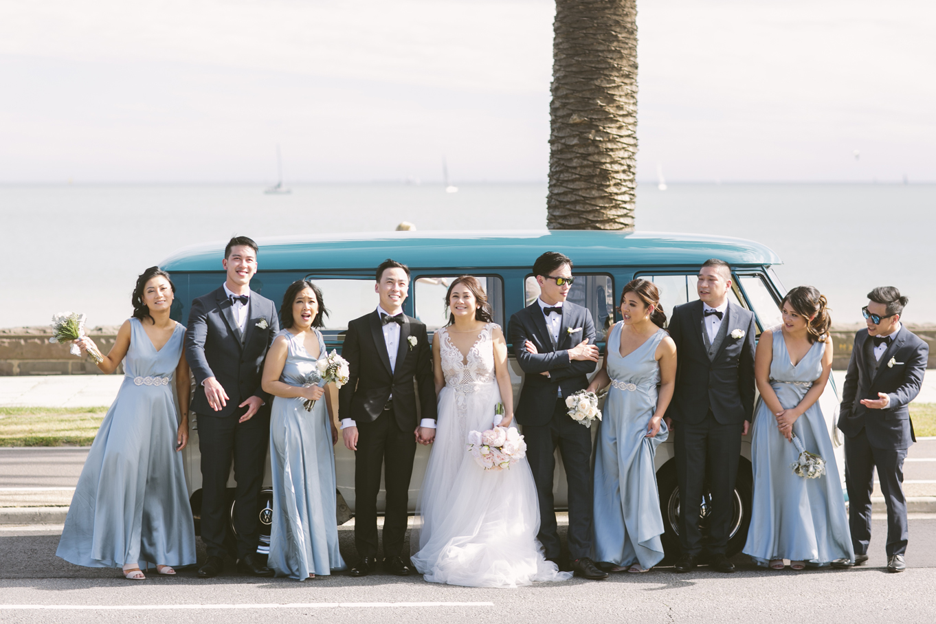 Kombi & Beetle Wedding Car Hire by Fisch & Co ... Patricia & Vince (6)