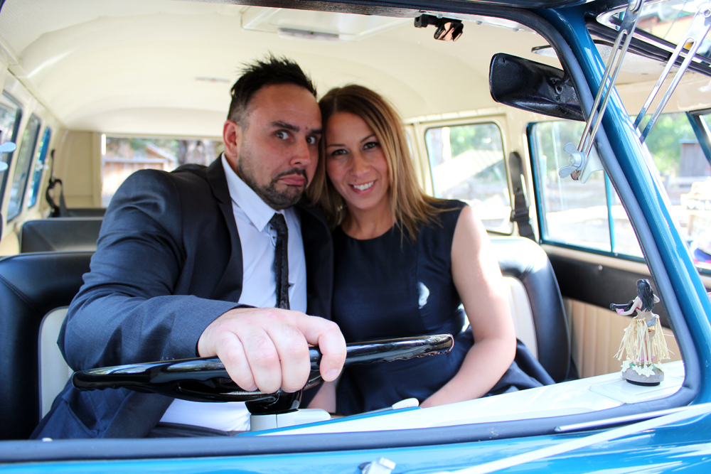 Kombi & Beetle Wedding Car Hire by Fisch & Co. - Emily & Michael (80)