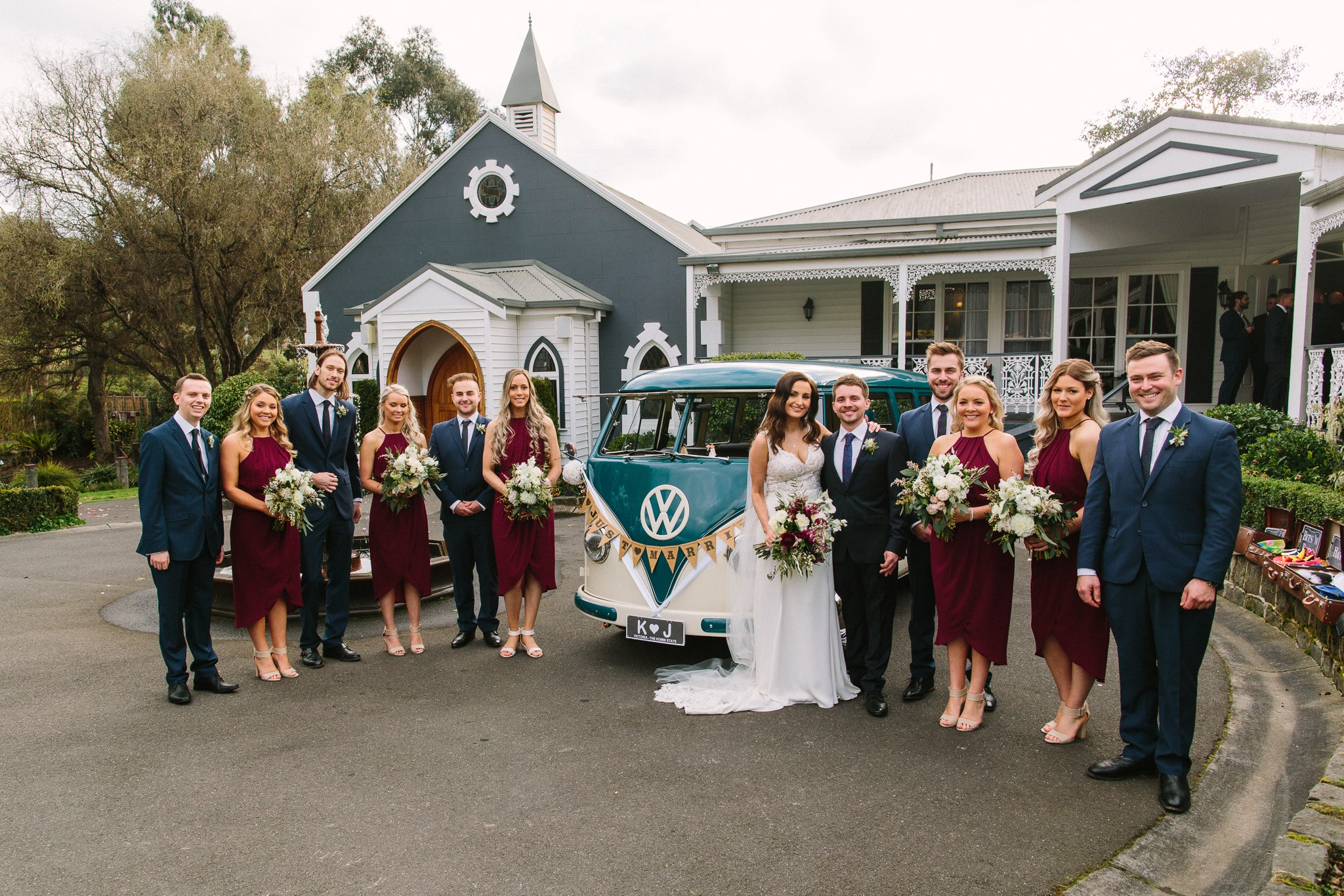 Kombi & Beetle Wedding Car Hire by Fisch & Co. Photo by Shannaya Photo & Video (2)