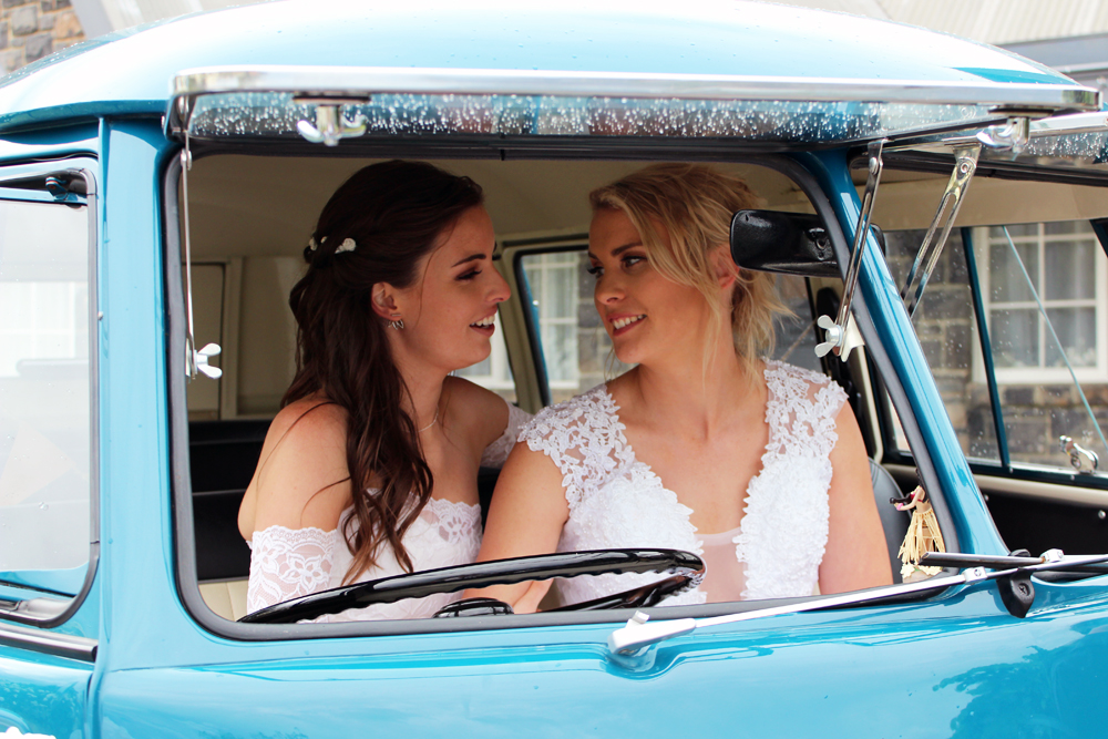 Kombi & Beetle Wedding Car Hire by Fisch & Co. ... Jess & Shell (56)
