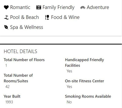 Hotel Features