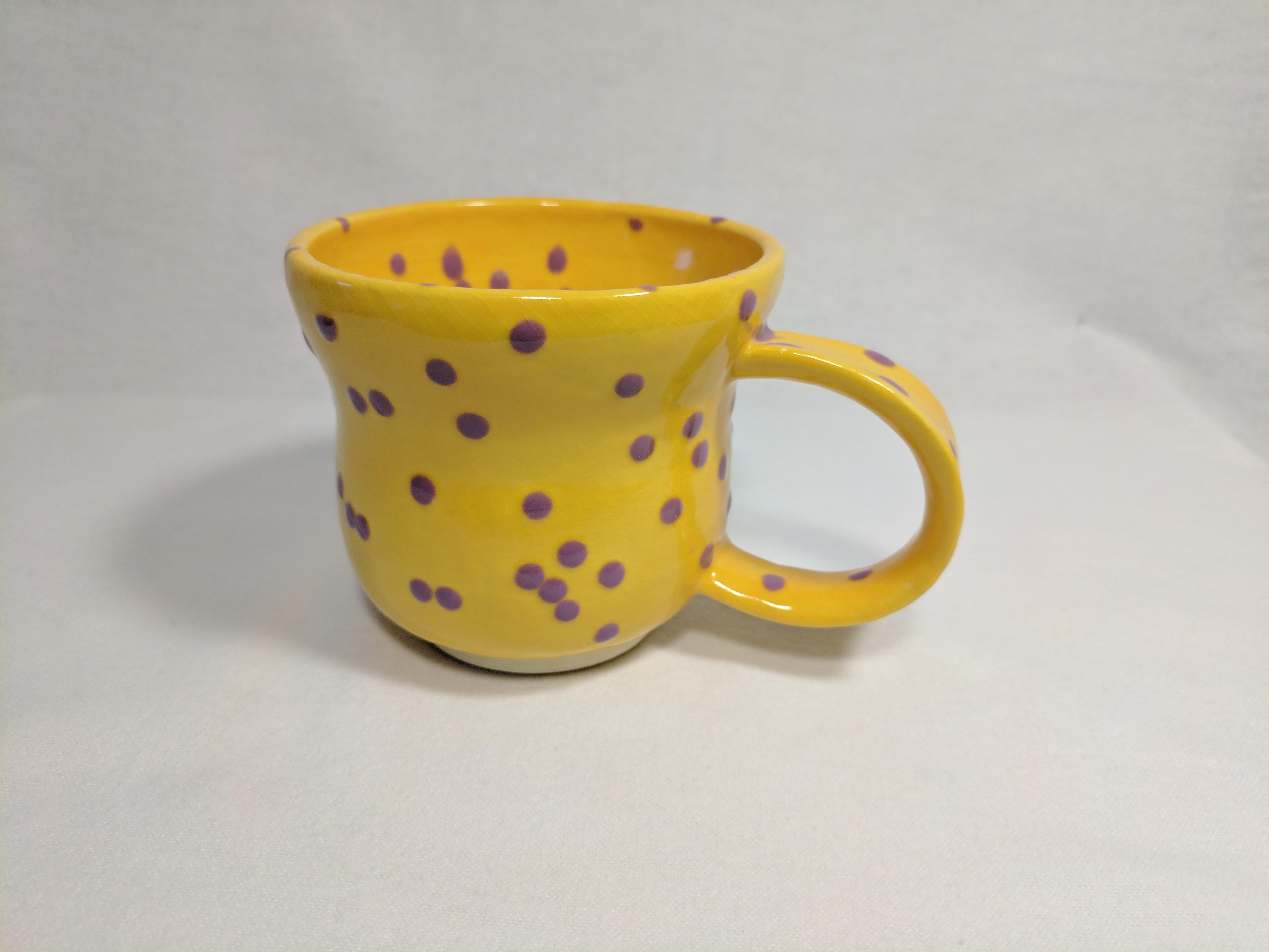 Spotted Mug, 10 oz