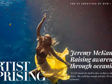 """Jeremy McKane: """"Ocean in Motion"""""""
