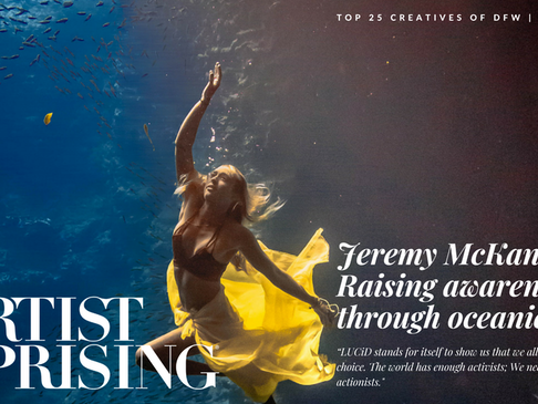 "Jeremy McKane: ""Ocean in Motion"""