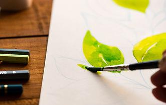 Kids Art Class Watercolor