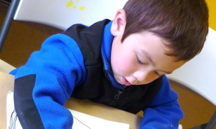 Homeschool, drawing, painting,