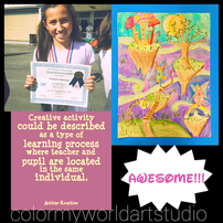 PTA, Reflections, winner, believe, dream, inspire, watercolor,