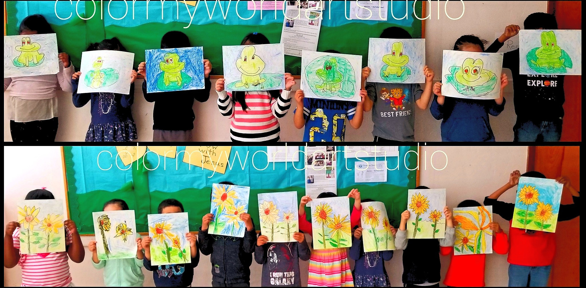 Color My World | In school ART