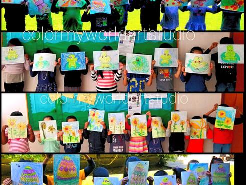 Color My World   In school ART