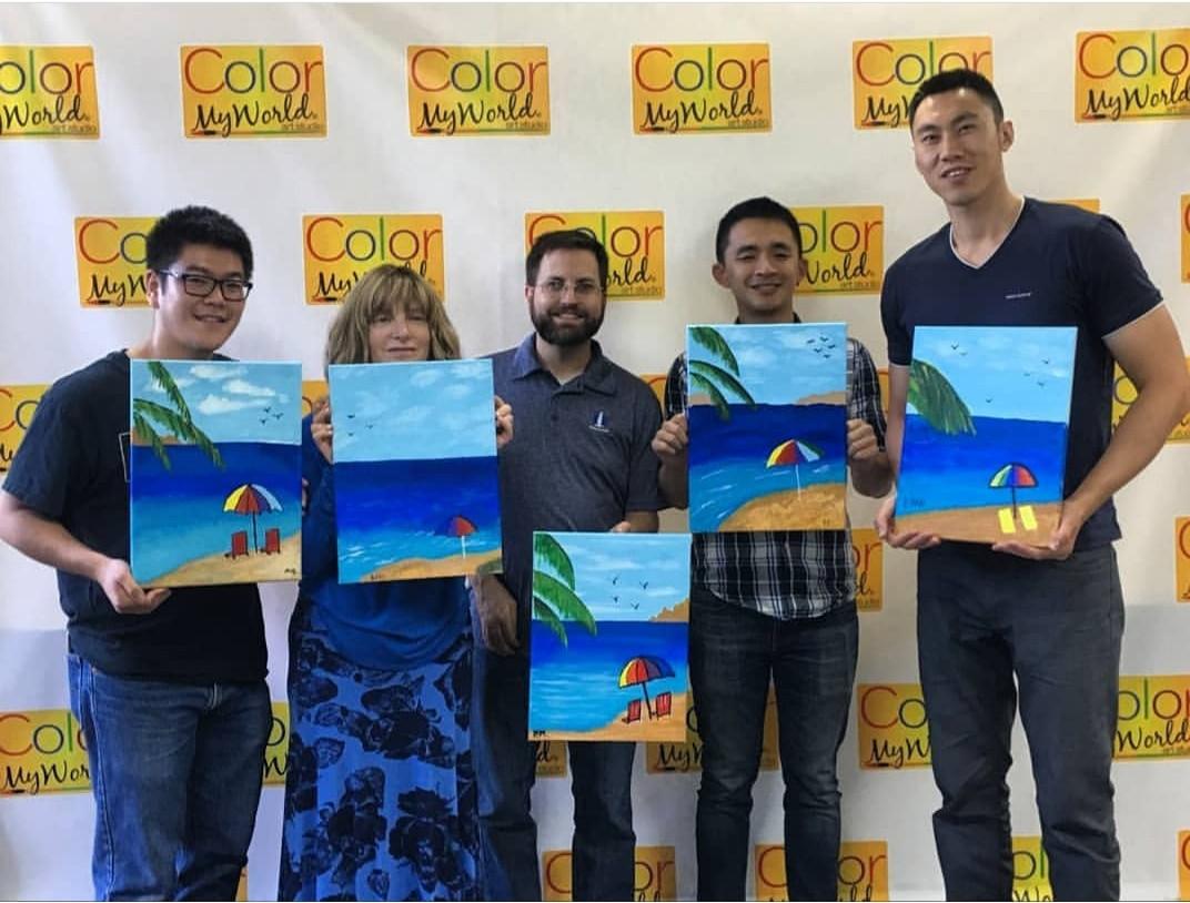 Team Building Paint Parties