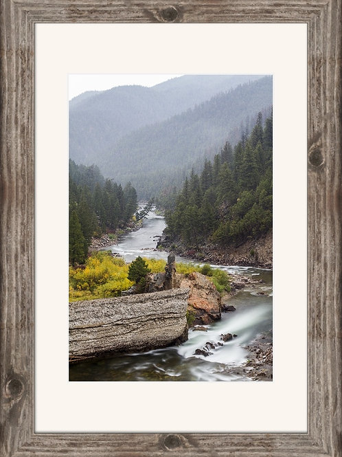 16x24 Framed and matted print