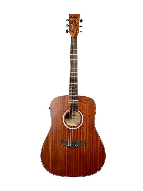 Lyman LD-300CE Dreadnought Style Acoustic-Electric Guitar