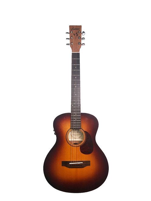 Lyman LOM-MiniEA Transacoustic Guitar