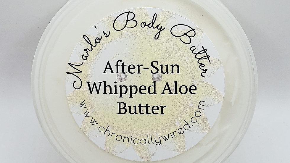 After-Sun Whipped Aloe Vera Butter
