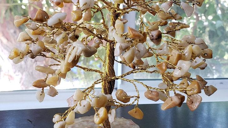 Golden Healer Stone Tree