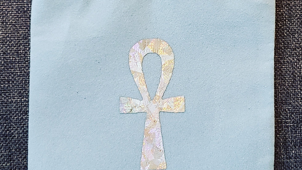Ankh Crystal Pouch
