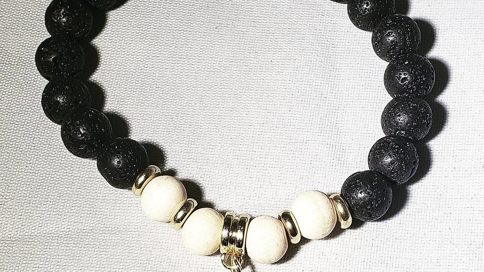 Elephant Lava Bracelet