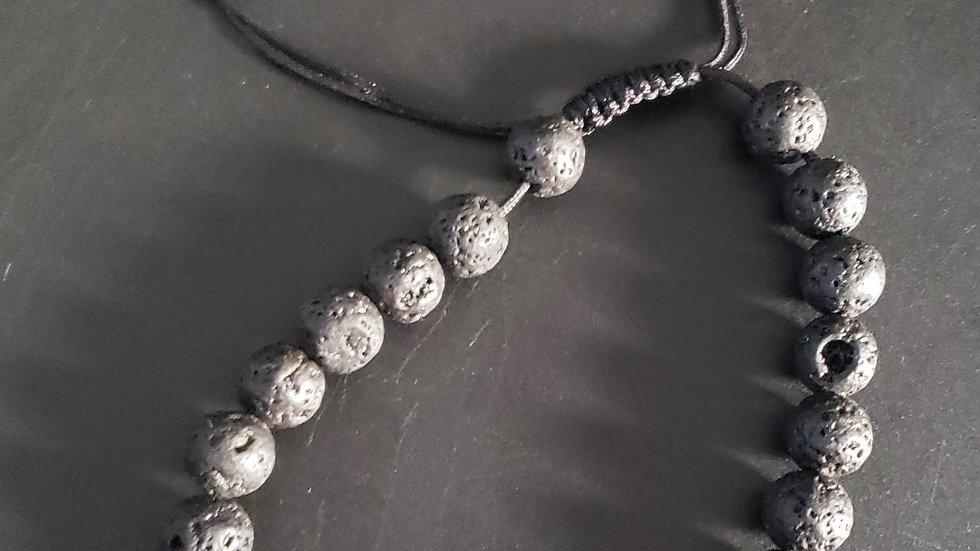 Chakra Lava Bracelet - Tie String