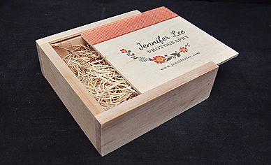 Custom-Wood-Box 30 to 40 with usb mpixpr