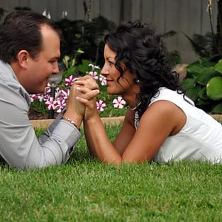 Engagement Sandra