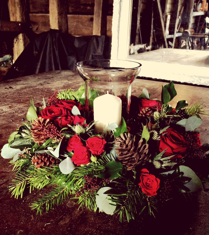 Christmas at The Garden Room Flower Company