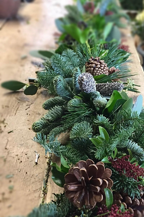 Scandi Blue Spruce Garlands