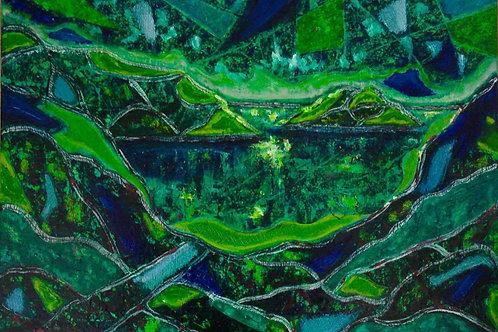 Green and Blue II