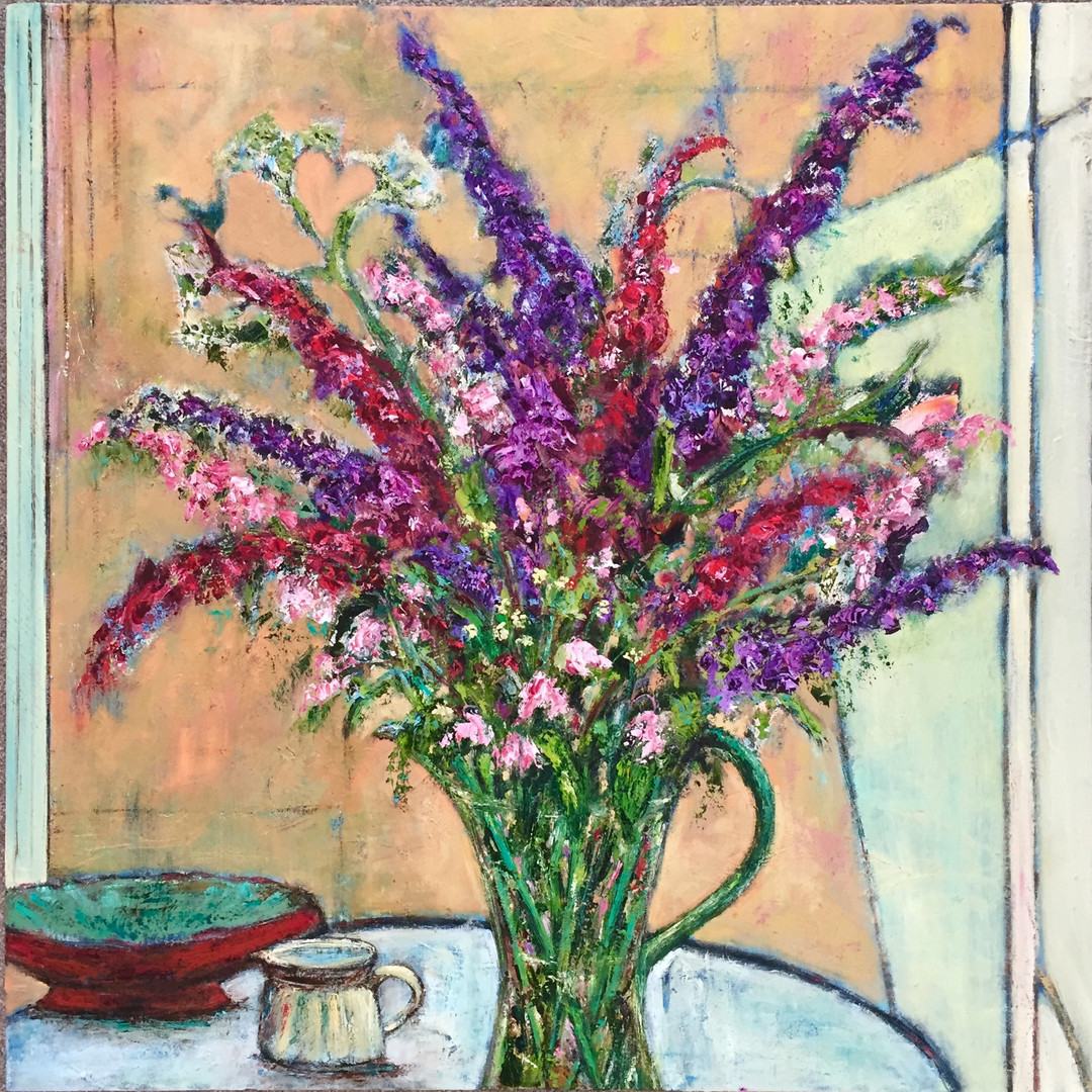 Still Life with Buddleia