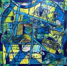 Art in Blue