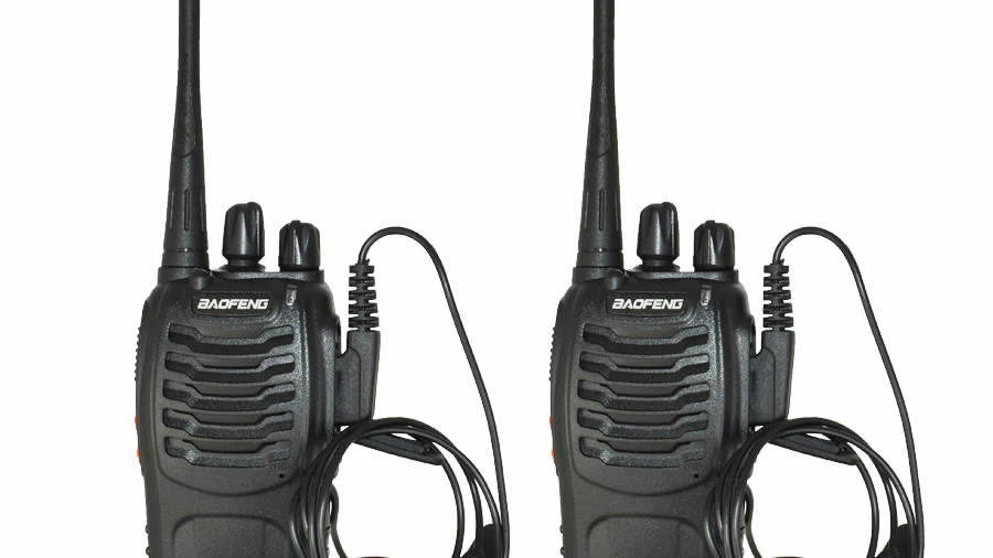 2Pcs/set baofeng BF-888S Walkie Talkie Portable radio station