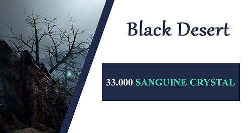 33.000 SANGUINE CRYSTAL - Star's End AP 281+