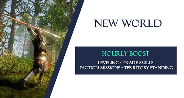 Hourly Boost - New World - 1 Hour