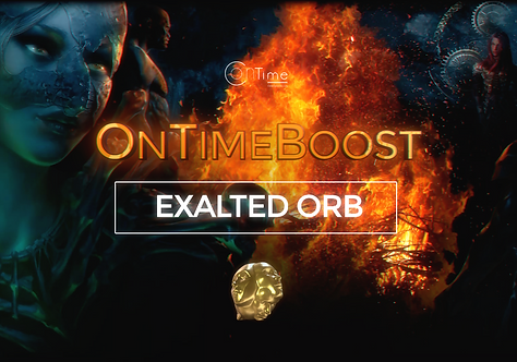 10 Exalted Orbs - Path of Exile: Heist