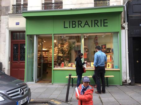 那些巧遇及特地走訪的巴黎書店