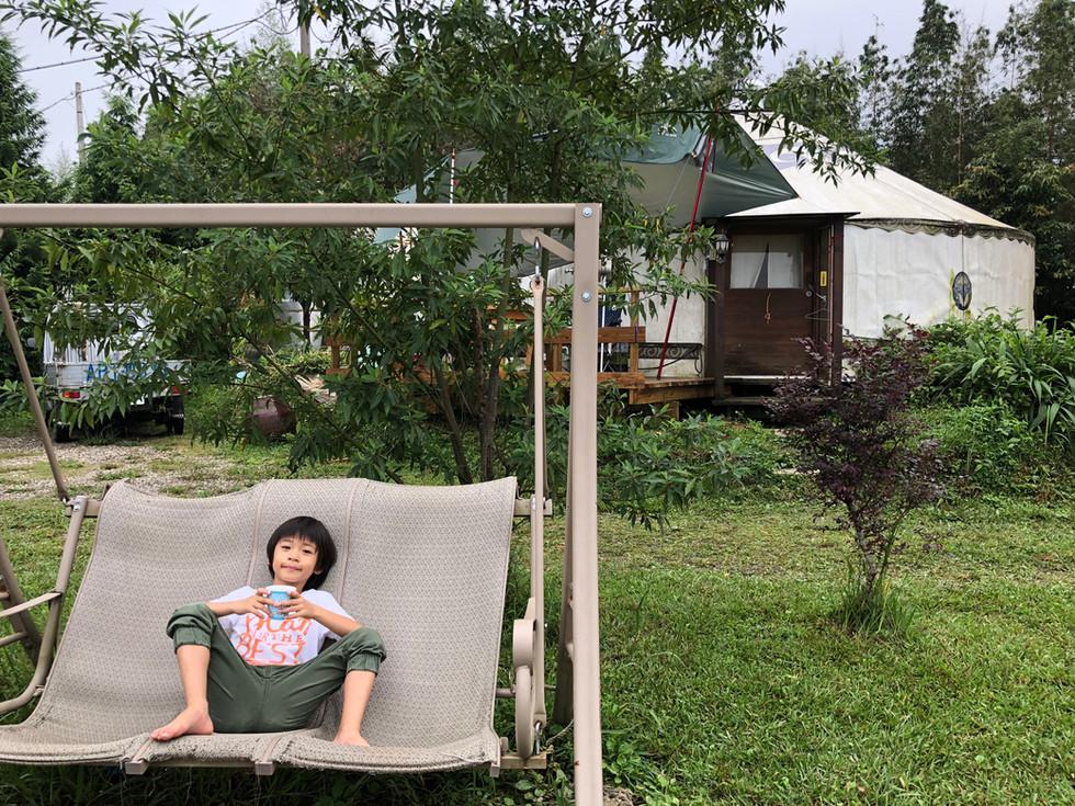 [新竹露營趣]我在英桃の天闊營地看見雲海