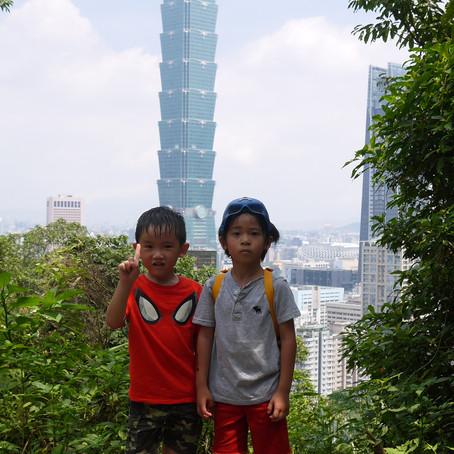 我在海拔183公尺看台北101 - 象山親山步道