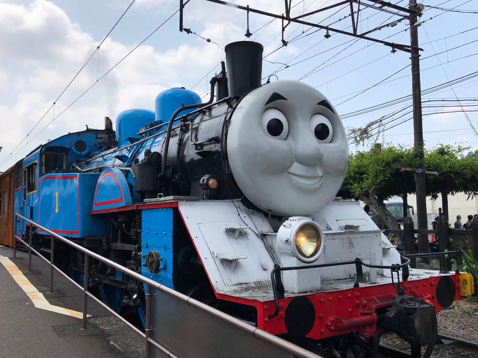 {靜岡.大井川鐵道}我搭上了真正的湯瑪士SL蒸汽火車