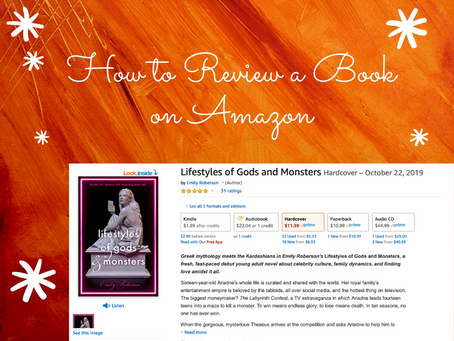 How to review a book on Amazon (desktop)