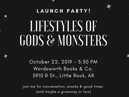 Launch Party Save the Date (and three things I love)