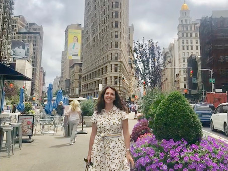 Newsletter - New York, New York! Book news and three things I love