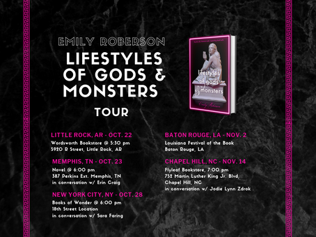 I'm going on a Book Tour!