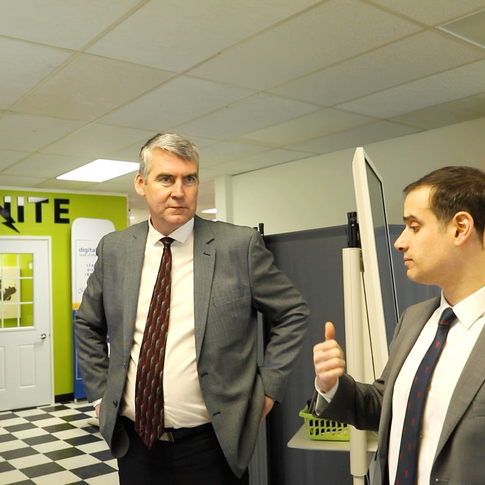 STEPHEN MCNEIL VISITS YARMOUTH