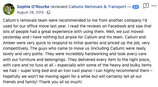Removals review 2015