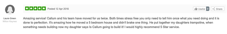removals review Callums removals